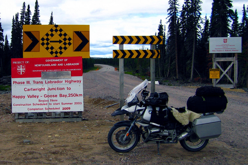 "Phase 3 <br /> Mealy Mountains <br /> Trans Labrador Highway <br /> Completion Schedule 2009 <a href=""http://www.advrider.com/forums/showthread.php?t=217444"">http://www.advrider.com/forums/showthread.php?t=217444</a>"