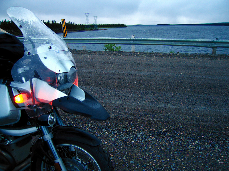 """A cool rain <br /> Trans-Labrador Highway <a href=""""http://www.advrider.com/forums/showthread.php?t=217444"""">http://www.advrider.com/forums/showthread.php?t=217444</a>"""