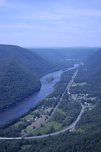 Looking towards Renovo, PA