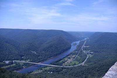 Looking back towards Renovo
