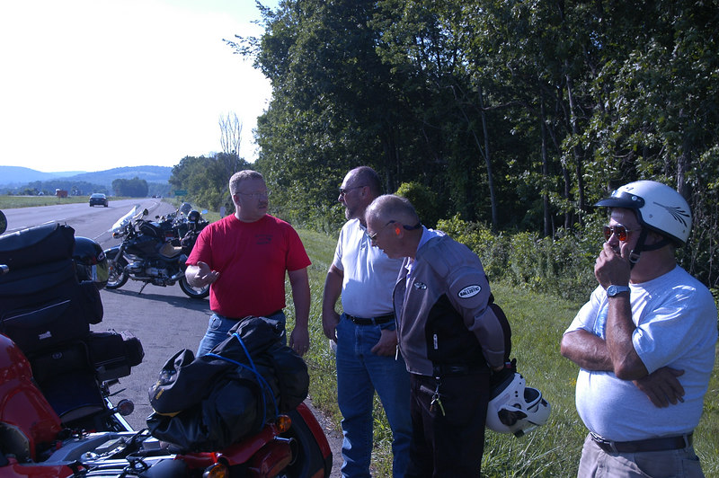 How many bikers does it take to inflate a tire?