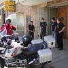 Moto Men at the River Rock Cafe, Walden, CO