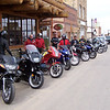Gathering of the Twisted Clan, outside of the River Rock in Walden, Colorado. From here, we went to Riverside, Wyoming and on to WY 130, over the Medicine Bow Range summit, to Laramie and home. A great ride !!