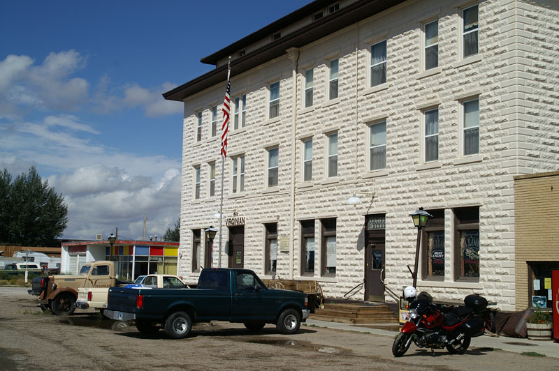 The Virginian Hotel in Medicine Bow, Wyoming