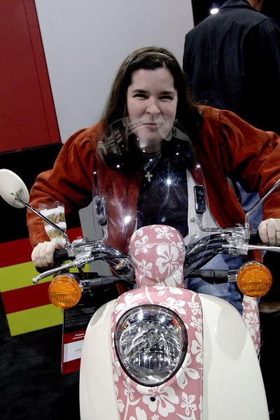 Bobbie Jo Walker at the 2007 Cycle World International Motorcycle Show in Atlanta Georgia