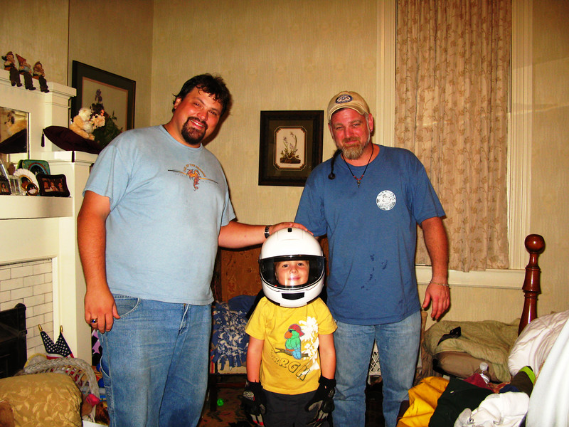Dan and me with my Nephew Trevor