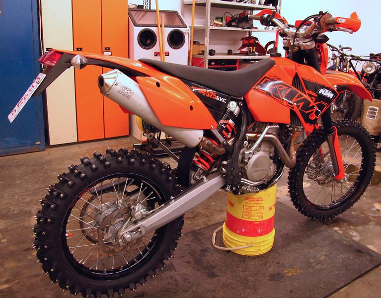 2007 KTM 525 EXC