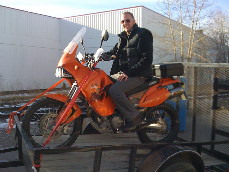 2007 KTM 640 Adventure