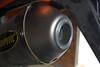 Akrapovic KTM 640 Adv with FMF Spark arrestor insert