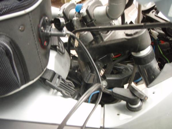 I added a Powerlet electrification plug that plugs into my accessory plug.