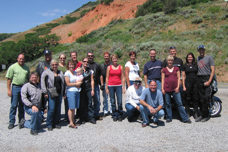 The group in East Canyon