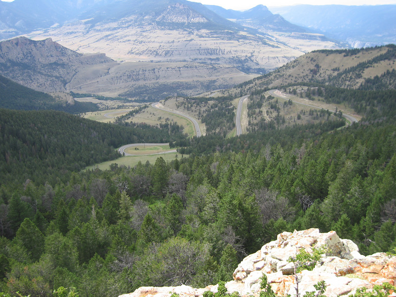 View from Dead Indian Pass