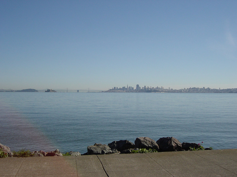 View of San Francisco from Sausalito