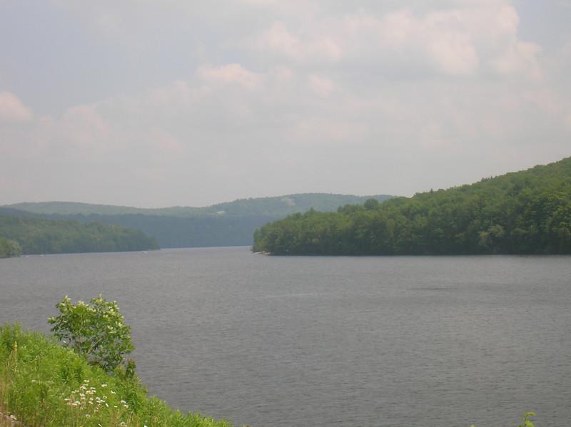 Harriman Reservoir west of Wilmington VT