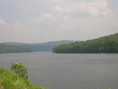 Harriman Reservoir west of Wilmington VT
