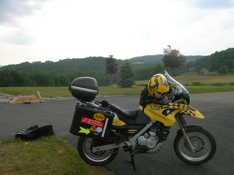Nice background for a bike profile shot