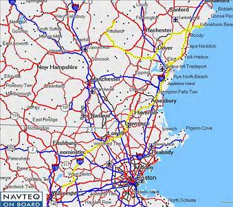 Day 3:  Barnstead, NH to Shrewsbury, MA via Kennebunkport, ME.  197 miles
