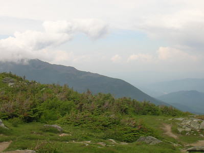 On top of the world - a view of the spine of Mt. Madison.  I hiked the spine in 2019.