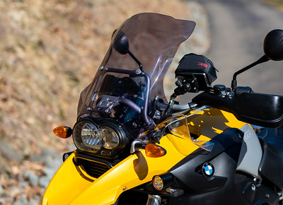 GS-Adventure style windshield with vent