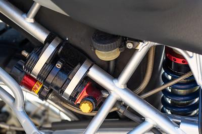 Elka rear suspension control