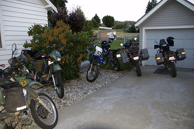 Oh, yeah, and a couple of KTMs and a DRZ.