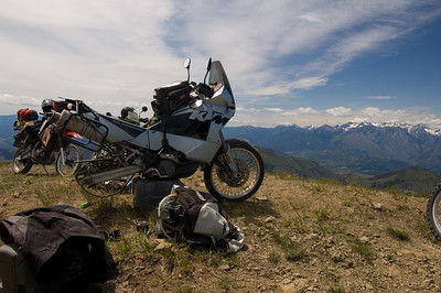 A KTM in its natural state.