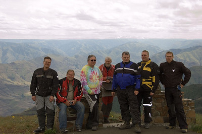 A subset of the group at Buckhorn.  I am on the left.