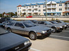 OK, here are the most DeLorean 's I've seen in one spot at one time.