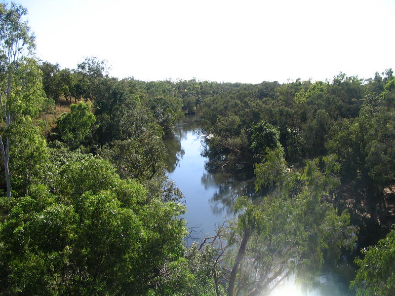 City of Katherine. Katherine River.