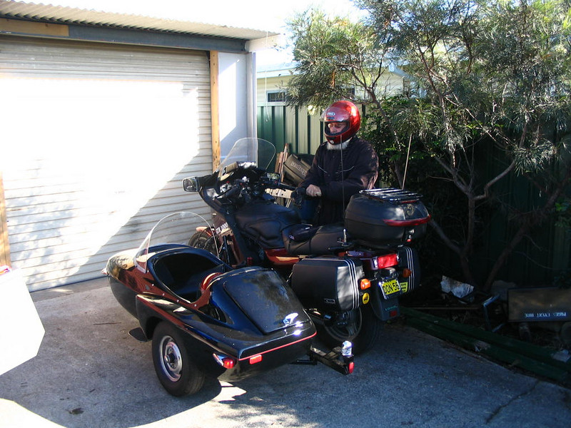 Sidecar Don and his GTR 1000