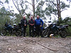 Met Phil and Don KLR 650 riders in Yarram and they mentioned riding the Grand Ridge Road. I eneded up riding from the opposite direction (unplanned?) and we met at Binners Jct. They also rode thru Russia etc the same time as the actors did in the Long Way Around except Phil and Don plus another rider didn't have a support vehicle, agents to do paperwork.... Awesome and neither of the KLR's ever had a malfuction.
