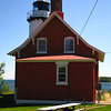 Lake Superior's unreliable disposition meant that passing ships needed navigational assistance, and in 1851 the original lighthouse was built.