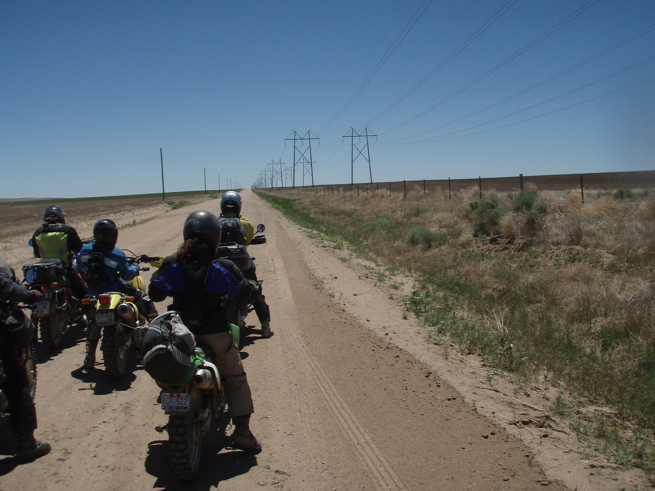 """GPS -- check, Gas -- check, 100 miles of nothingness -- check,  Let's ROLL!"""