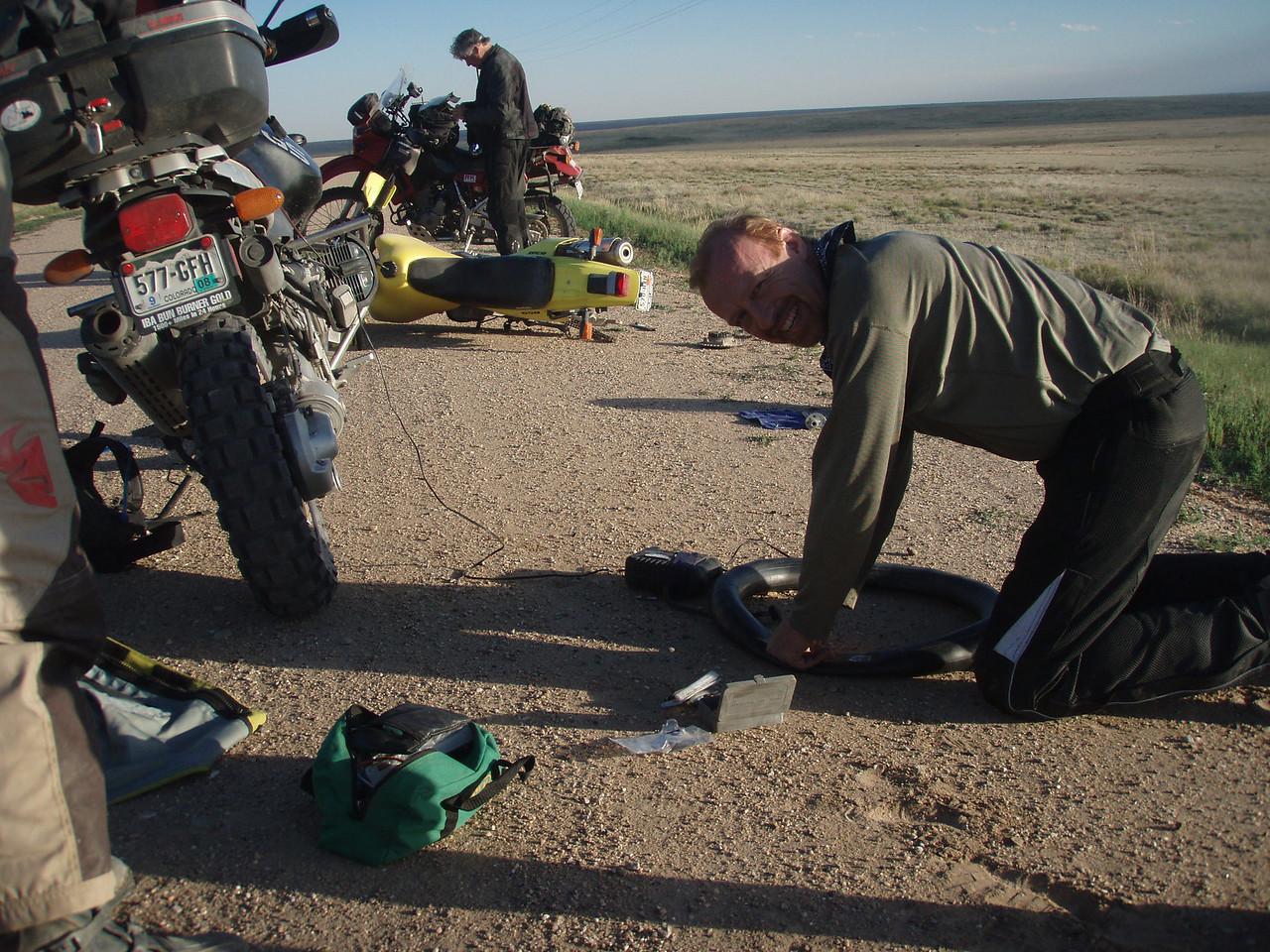 Flat tire redux -- oh the joy!