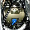 2008 Honda CRF450X engine head and spark plug