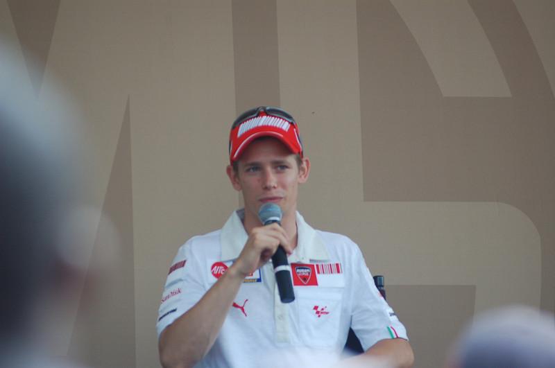 Casey Stoner, factory Ducati