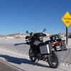 White Sands National Monument.  Where we're going, we don't need roads.