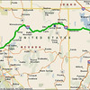 Day 3 Route - San Jose to Rock Springs WY. Just setting up for the fun roads to come ...