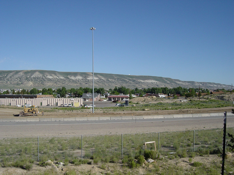 Another view of I-80 from the hotel, Rock Springs WY