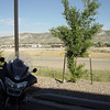 View of I-80 from the hotel, Rock Springs WY