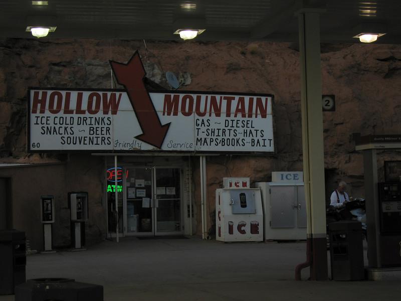 Hollow mountain checkpoint