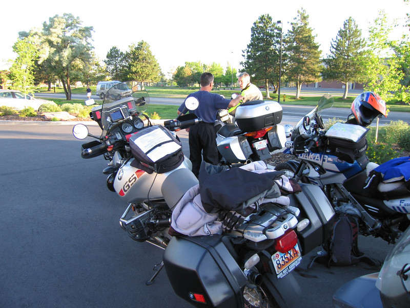 Saturday morning...ready to ride
