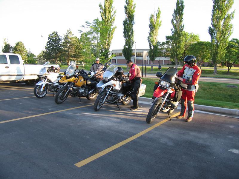 Fellow rally riders