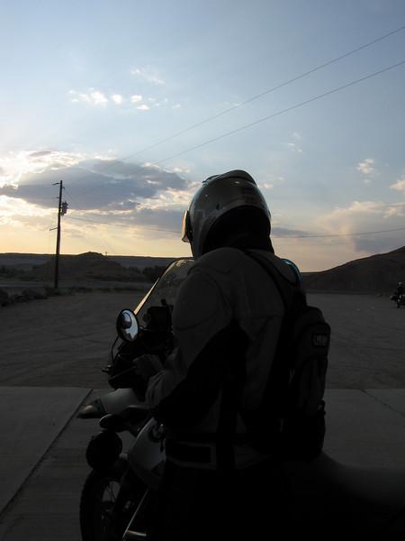 Ready for a dusk ride through Capital Reef NP