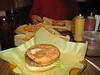 Saturday Adventure Lunch, 1/2 pound steer burger.