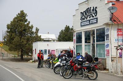 The outlaws invade Douglas.