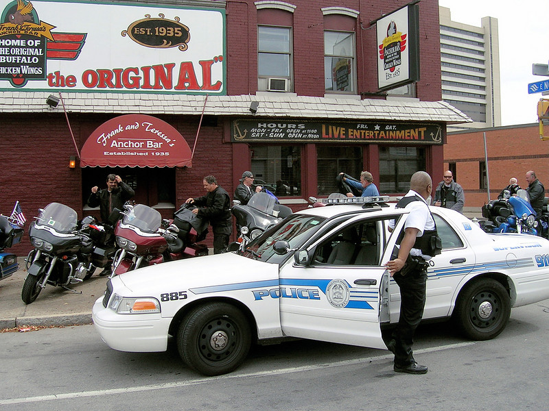 """So I yell out from across the street """"I told them not to park there Officer"""" because I'm helpful that way."""