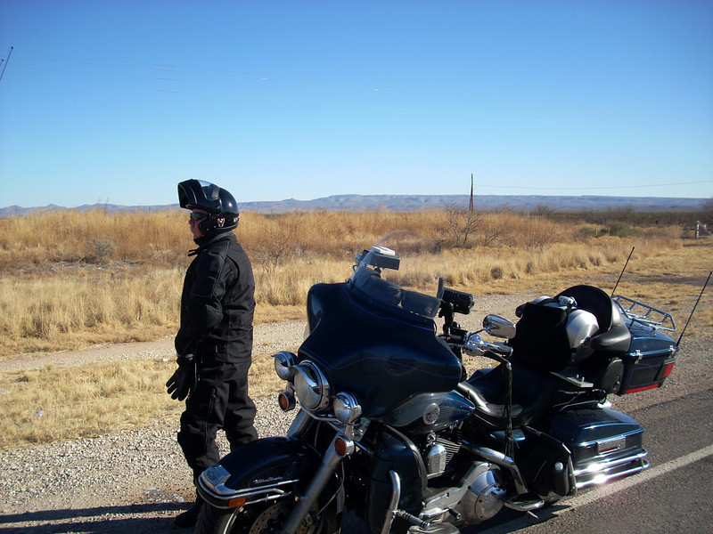 Day two.....Gene finds a leak in the desert of West Texas.