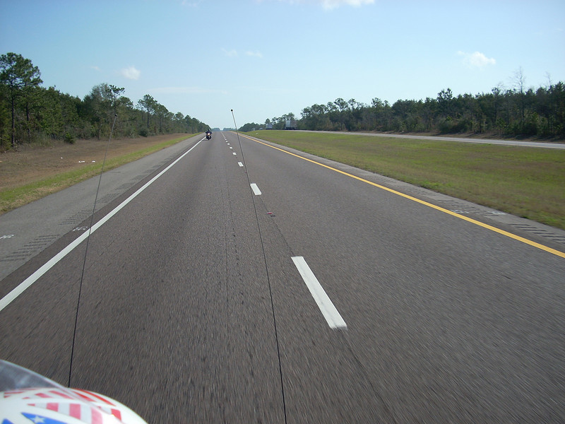 For several hours this is the view crossing Florida...