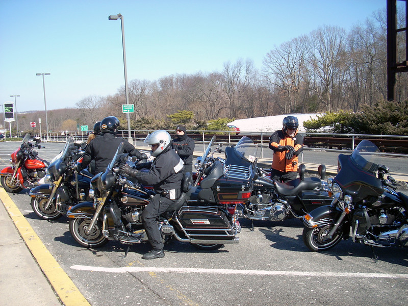 The ride was to Sandy Hook and Bahr's Seafood near the entrance.